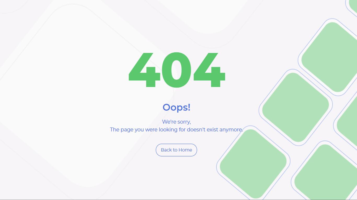Erratum - 404 Error Pages - 1